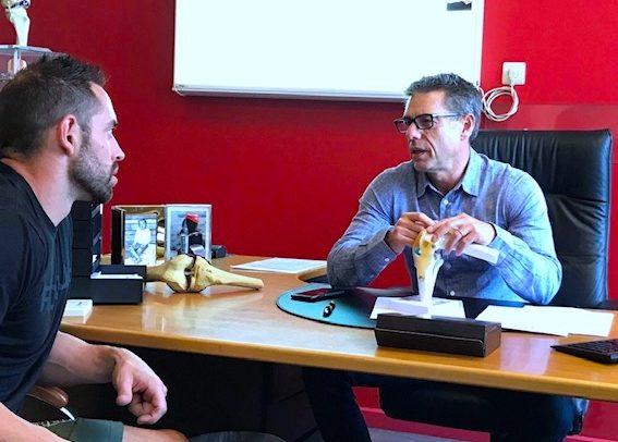 Dr Alain KRYKSZTEIN Genou Hanche Epaule Orthopedie Bruxelles